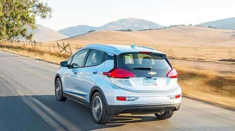The Chevrolet Bolt electric car (overseas model).