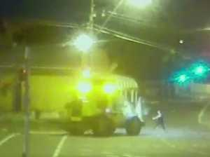 CCTV shows moment woman is run down