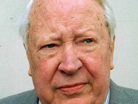 A file picture dated April, 1998 of late former British prime minister Edward Heath