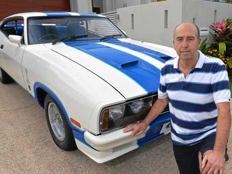 FOR SALE: Owner John Schaab has a classic 1978 Ford Cobra which has been lovingly restored.