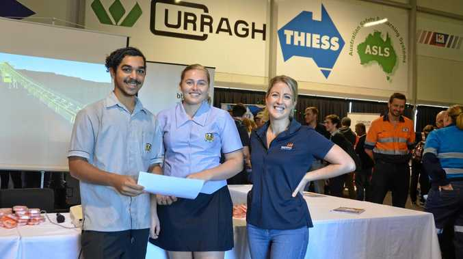 GAP YEAR: Blackwater State High School Year 12 students talk about the BMA Apprentice Program.