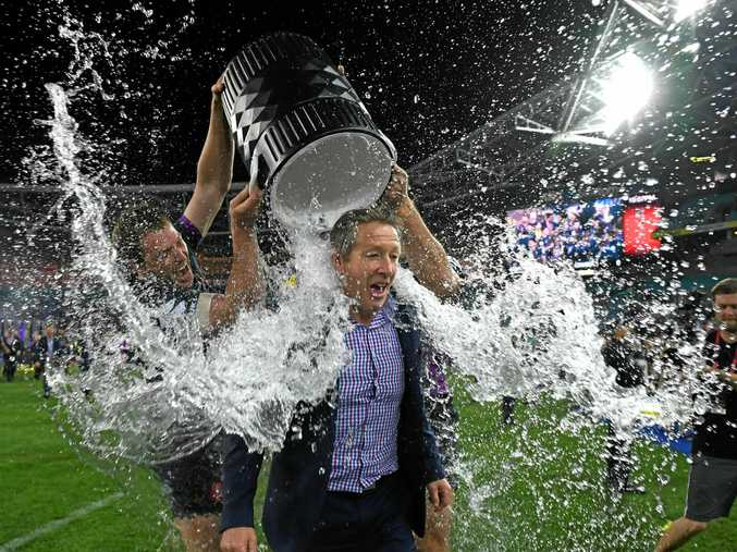 MORE SUCCESS: Storm coach Craig Bellamy after Melbourne's grand final win.