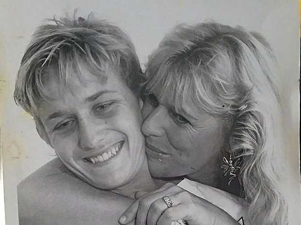 Lynn Murray put a call out on Facebook to find her 'hero' who saved her life when she was caught in a rip at Lamberts Beach 25 years ago. That boy was Chris Dillon.