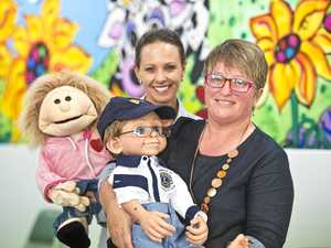 Toowoomba Hospital using cutting-edge puppet