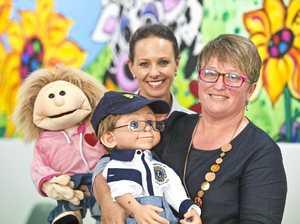 Toowoomba Hospital using cutting-edge puppet