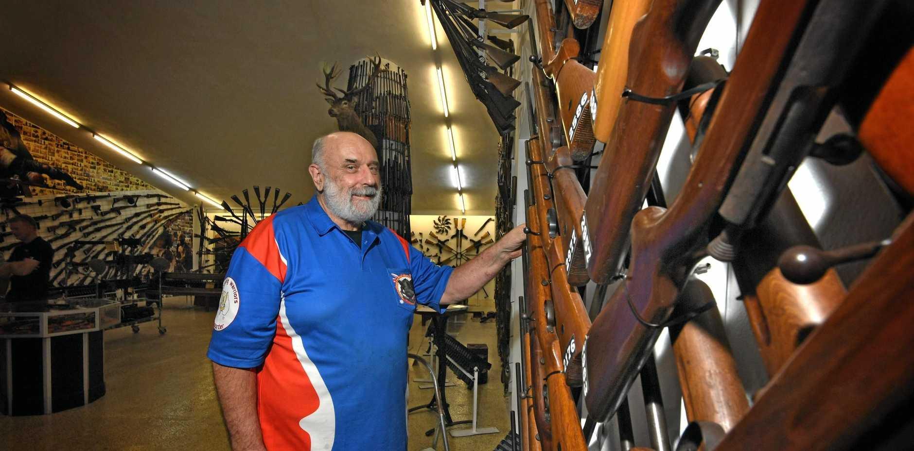 Ron Owen from Owen's Guns in Gympie.