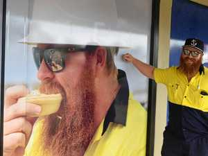 Mackay electrician becomes the face of Mackay bakery