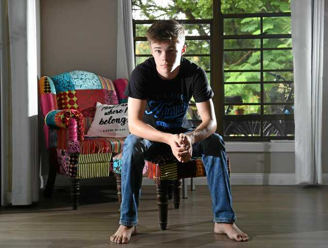 'IT' TEEN: Alstonville local Nicholas Hamilton will be seen in some exciting film projects this year including the hyped remake of Stephen King's IT.