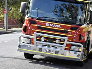Fire crews fighting blaze on Coast property