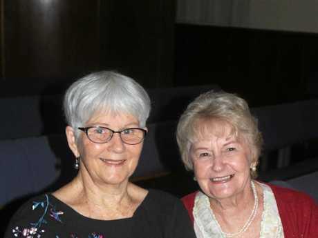 Maureen Sheargold and Verna Douglass.