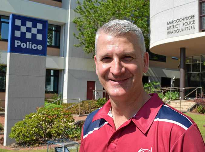 Sunshine Coast Vulnerable Persons Unit officer-in-charge Senior Sergeant Troy Pukallus.