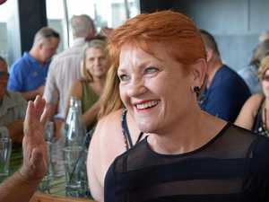 Pauline pops in for $100m promise