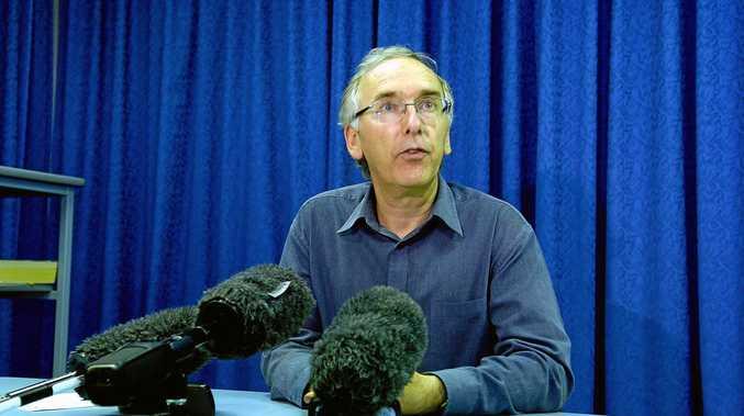 Dr Andrew Langley of the Sunshine Coast Public Health Unit.