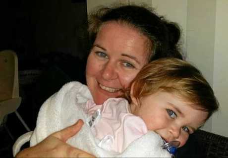 Lauren Cochrane with daughter Violet, 4.
