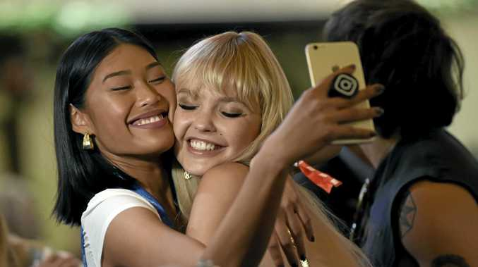 STRUGGLING: A new study has finally established clear links between young women using social media and low self-esteem over their bodies.
