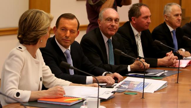 I'm sure Julie Bishop would rather her ideas were listened to, rather than winked at. Source:News Corp Australia