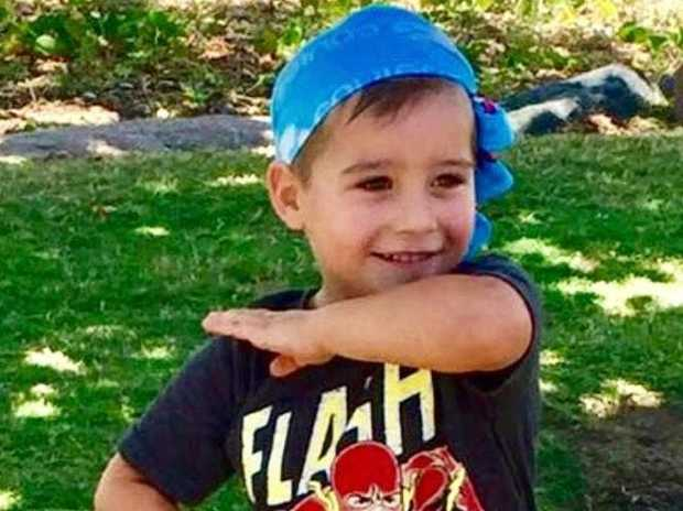 Townsville boy Logan Andersen was hit by a vehicle in a Thuringowa carpark.