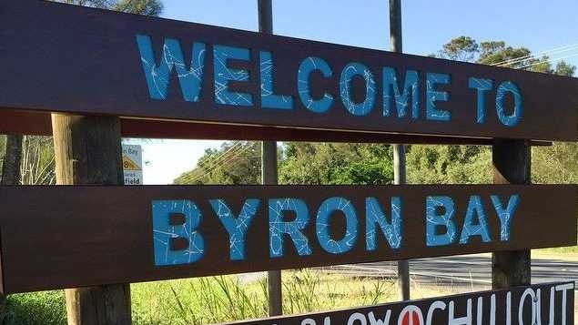 Welcome to Byron Bay. No, not you, tourist.