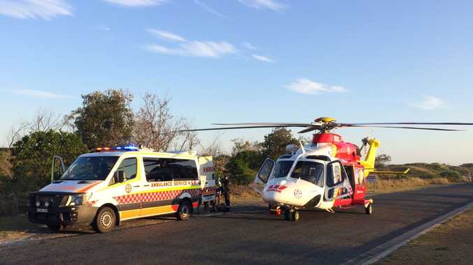 The Westpac Life Saver Rescue Helicopter has been tasked by NSW Ambulance to attend an incident involving a 12 year old girl in Yamba NSW.
