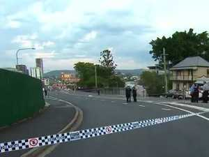 Stabbing shuts down road as police launch probe