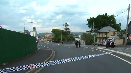 Police are investigating after a man was stabbed at Milton. Picture: 9 News Queensland