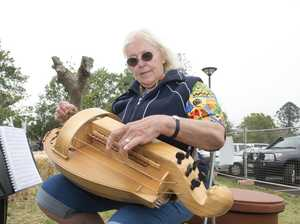 Well, what do you know? There really is a hurdy gurdy