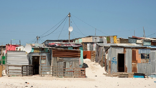 South Africa's shanty towns, known as 'informal settlements', like this one near Cape Town, are crawling with illegal abortion clinics and criminals masquerading as doctors. Picture: Megan Palin
