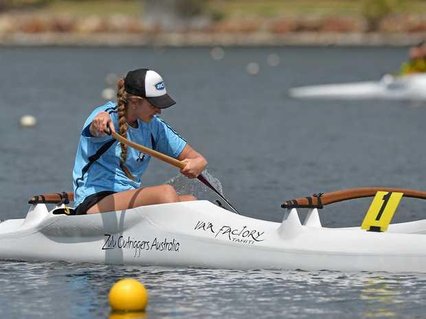 EEN: Erin Hurst in action.