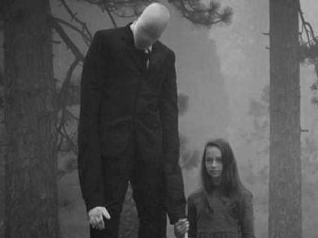 An artist's impression of Slender Man. Credit: ImgurSource:Supplied