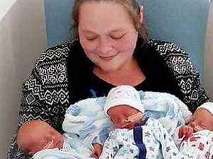 Mum's brother dies week after two triplet sons