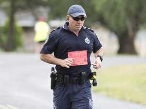 Officer runs to honour friend