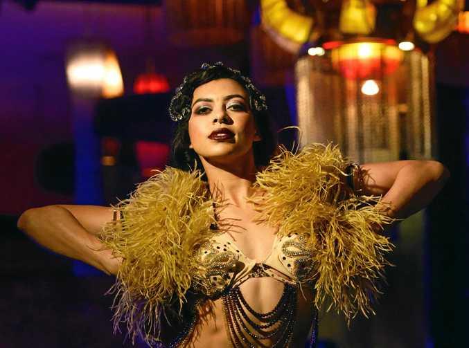 STAR-STUDDED: Zelia Rose, an Australian Burlesque Dancer based in Melbourne will perform in Mackay in December.