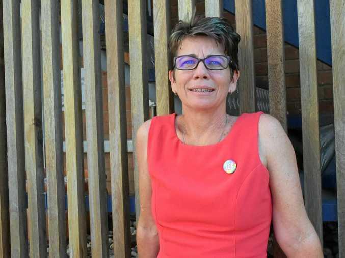 Lisa McDermott, of PFLAG.