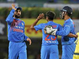 India takes out first T20 international over Aussies