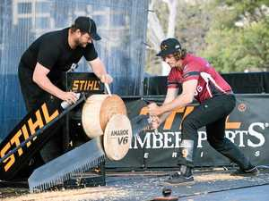 Axeman chops his way to fifth place