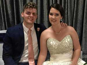 Round two for Rocky couple after floods washed out wedding