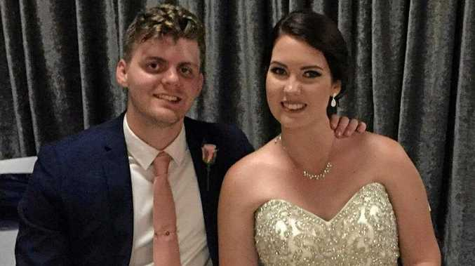 ROUND TWO: Mr and Mrs Josh Pearce celebrating their wedding at the new Korte's Resort Function Centre.