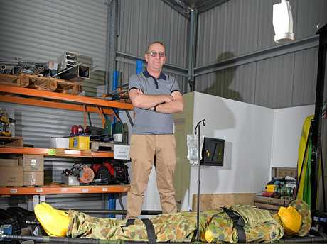 David Baird has landed a Department of Defence contract to supply unmanned land vehicles.