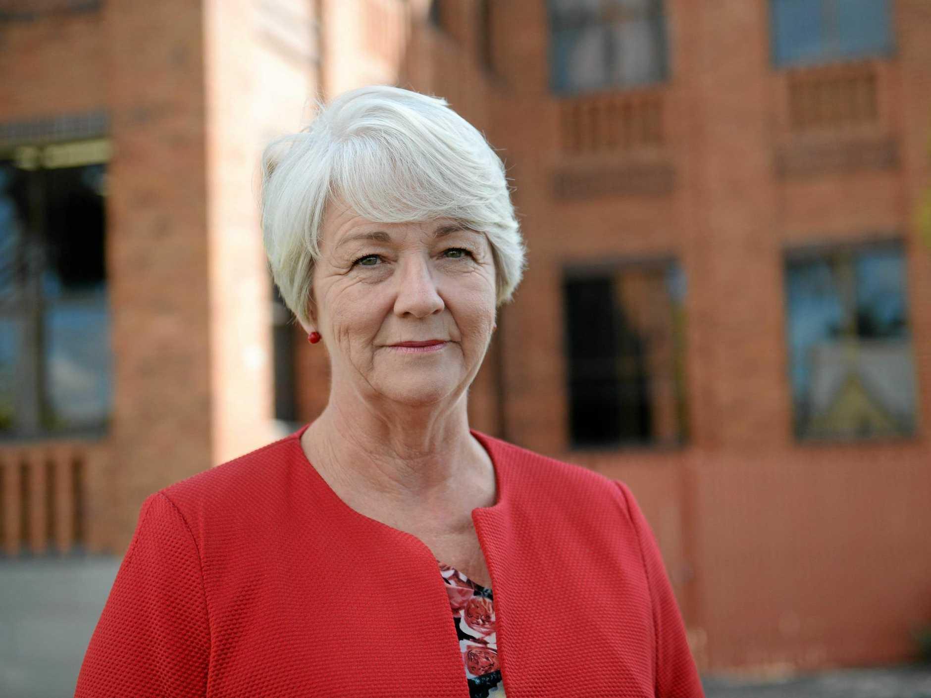 Rockhampton mayor Margaret Strelow.