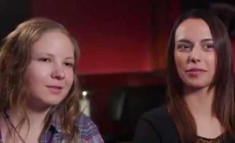 Salt Creek survivors Lena and Beatriz.