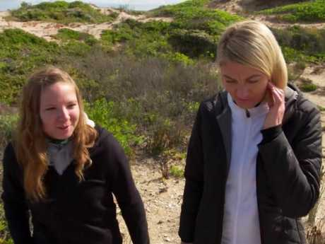 German backpacker Lena Rabente returns to the scene of the attack with 60 Minutes reporter Tara Brown.