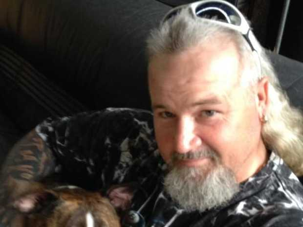 Kevin Scroop, 43, is accused of cutting a woman's throat in Sydney's west. Picture: Supplied.