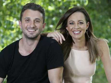 Tommy Little and Carrie Bickmore are staying with the Hit Network.