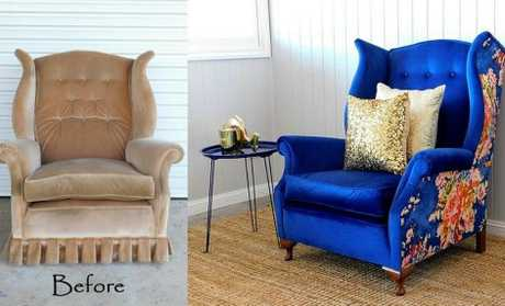 Before and after pics. Coquelicot Designs