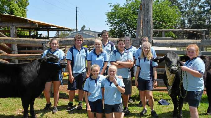 The Kingaroy State High School Ag team will compete at the Hoof and Hook.