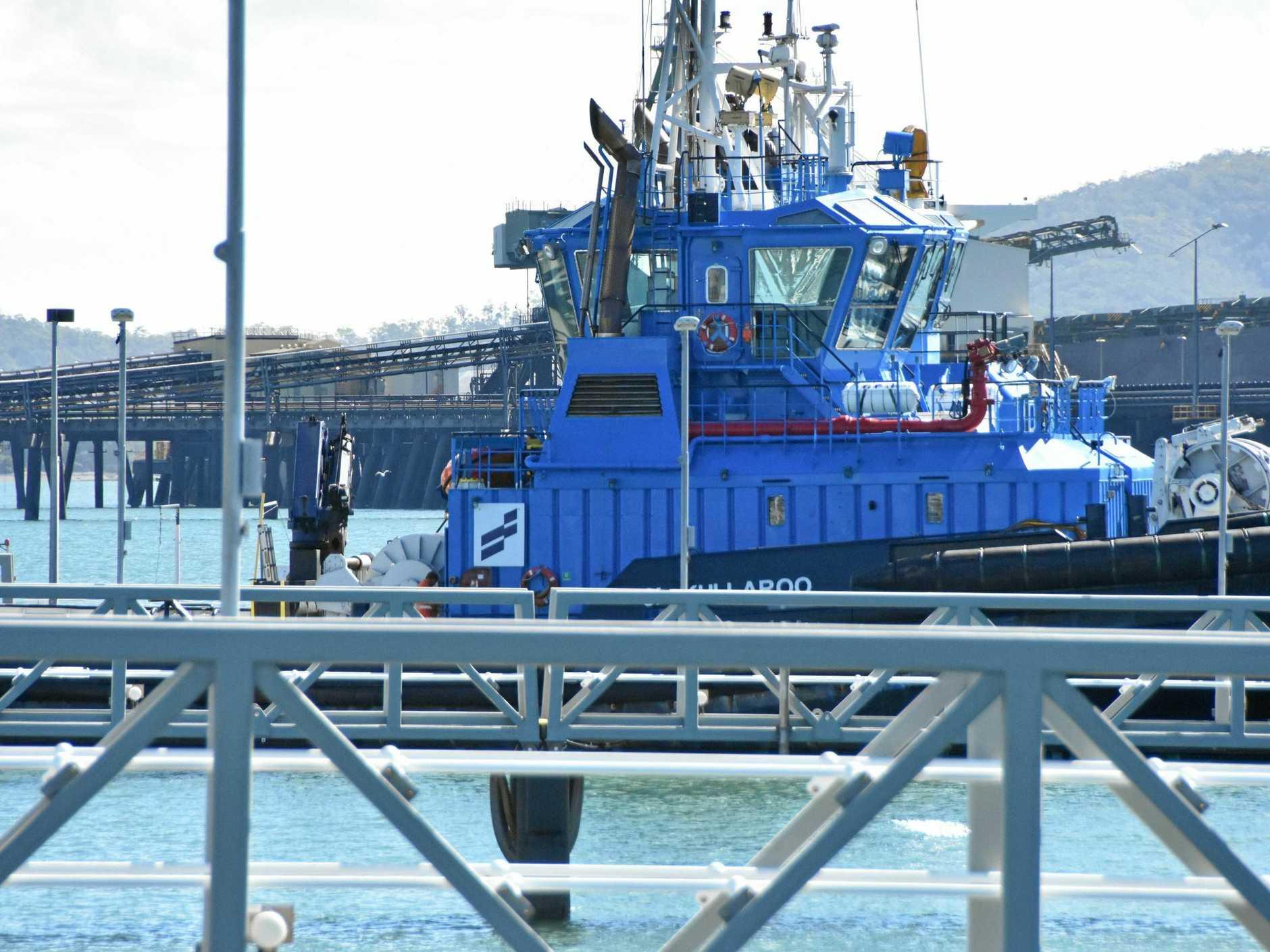 Tug ship Kullaroo pictured on June 13.