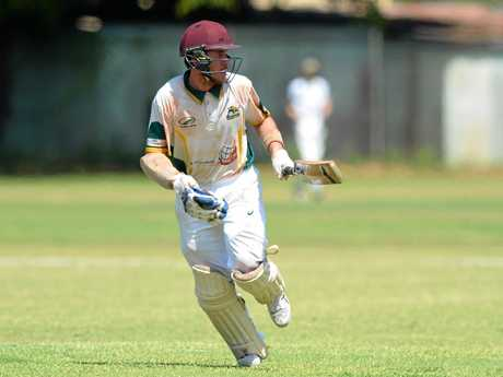 Gracemere's Byron Gale top-scored in his team's commanding win over BITS.