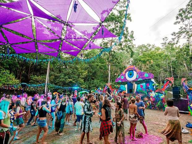 The organiser of the Mushroom Valley music festival says this was the first major incident in six years, with nearly all the 1500 attendees on their best behaviour.