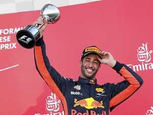 Ricciardo scores career-best ninth podium finish