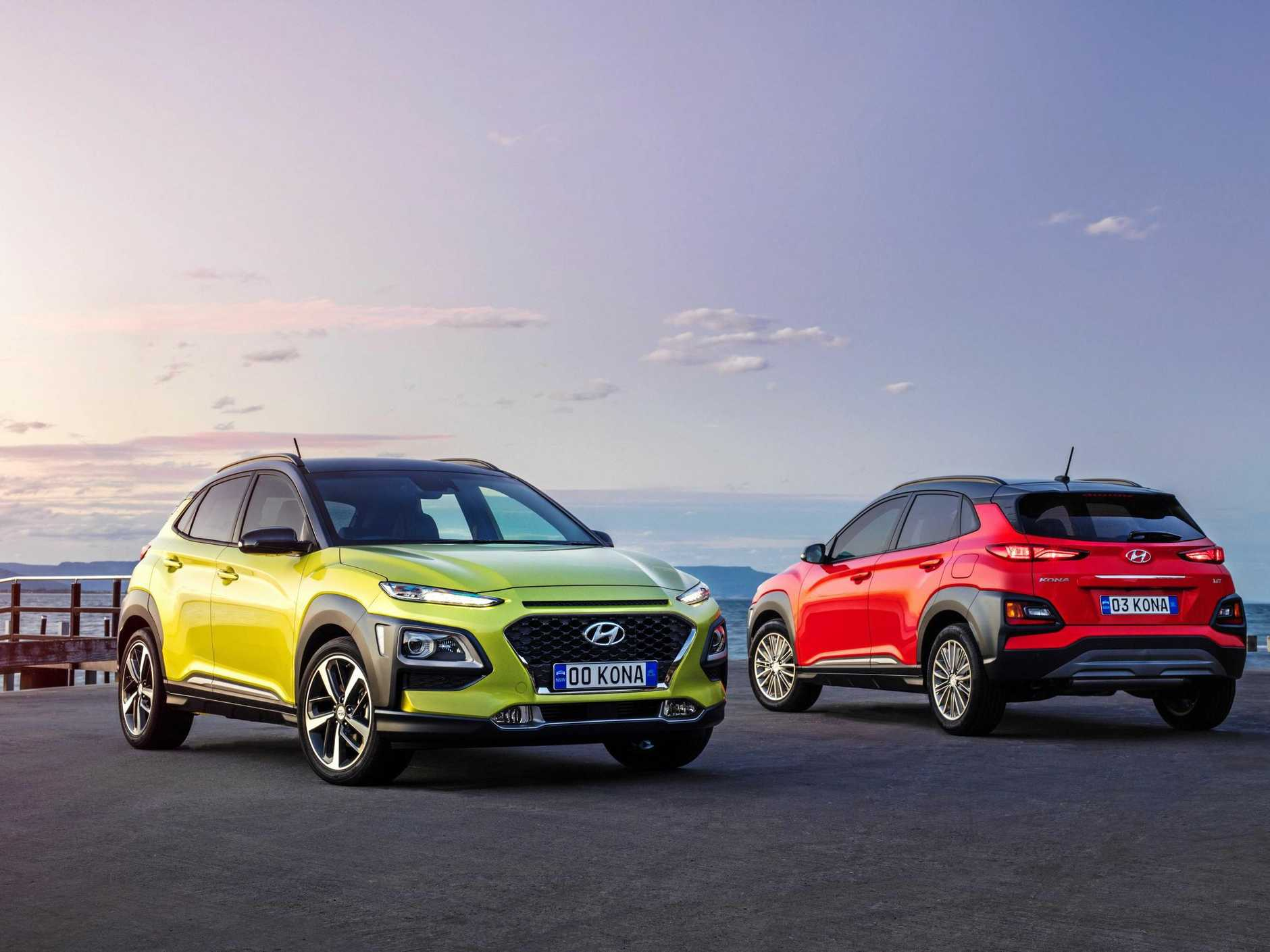 IT'S ARRIVED: The Hyundai Kona has just arrived in dealerships.